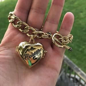 Juicy Couture Locket Bracelet